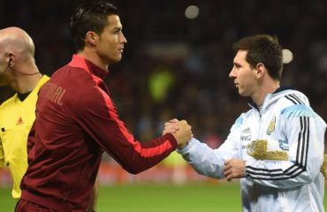 While Lionel Messi, right, has long been considered the best player in soccer, Cristiano Ronaldo, left, has led his teams to move major tournament titles.