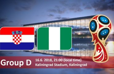 Nigeria Vs Crotia. World Cup 2018, Russia