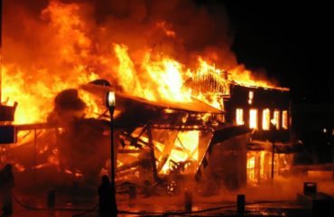 Fire guts Benue market, destroys shops
